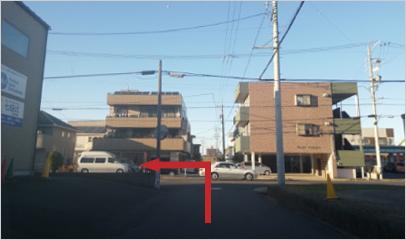 平和町5・⼟岐川観察館前バス停からの徒歩ルート